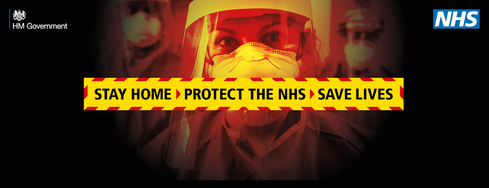 Protect the NHS, stay at home